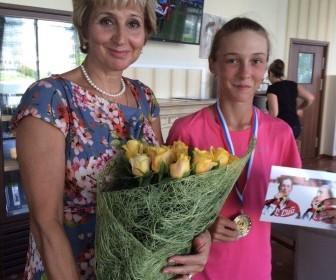 Ирина Веснина и Аглая