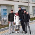 О.В. и игроки в Баку