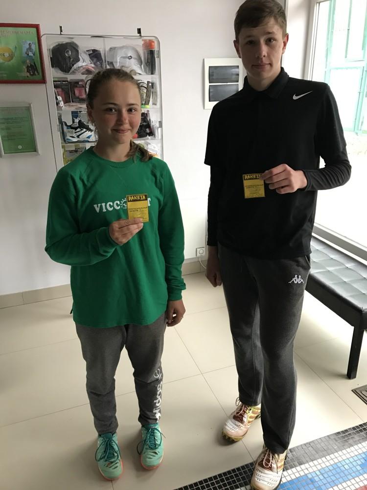 финалисты Настя и Яша